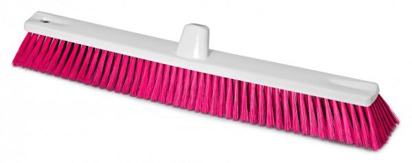 Hygienebesen HACCP weiss/rot 60cm D=0,25mm