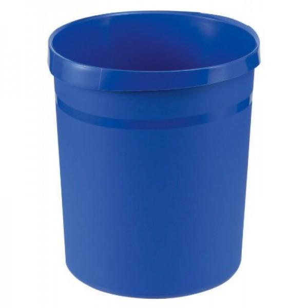 Papierkorb Grip, blau, 18l