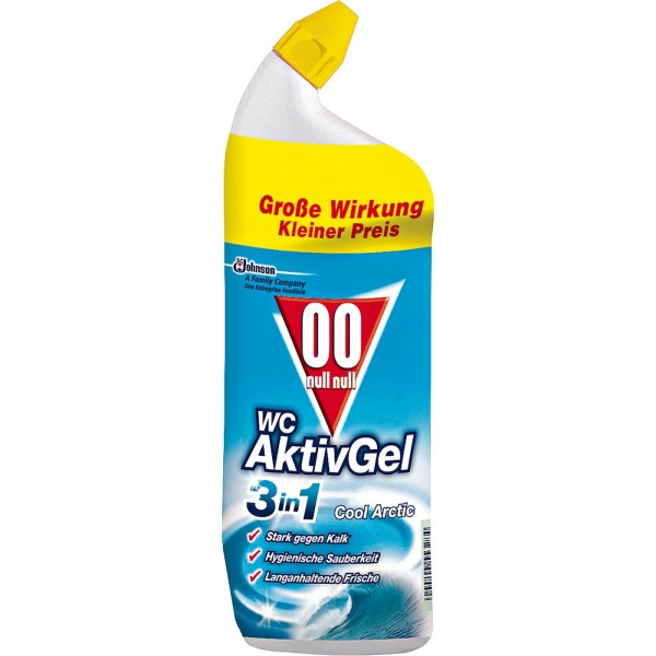 OO WC Aktiv-Gel 3in1 Cool 750 ml VE=12