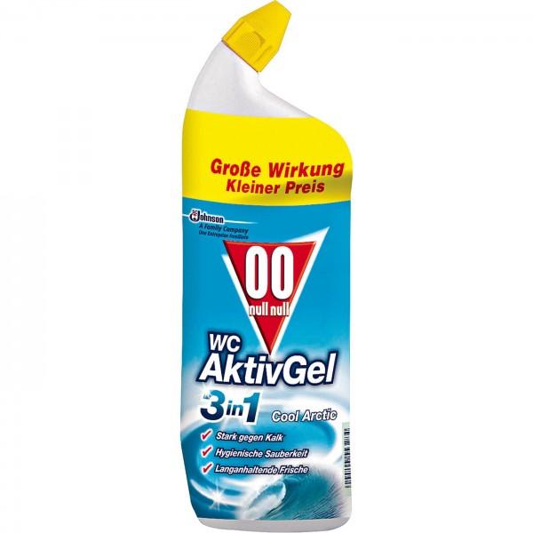 OO WC Aktiv-Gel 3in1 Cool 750 ml VE=12